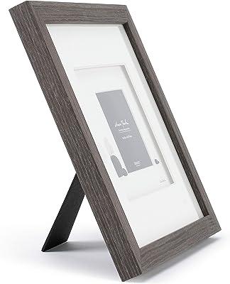 DEMDACO Baby Bird Classic White 13 x 12 Glass Pebble and Wood Wall Art Photo Frame
