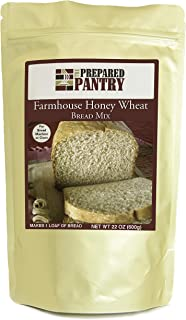 Sponsored Ad - The Prepared Pantry Farmhouse Honey Wheat Bread Mix; Single Pack; For Bread Machine or Oven