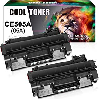 Best Cool Toner Compatible Toner Cartridge Replacement for HP 05A CE505A Toner for HP Laserjet P2035 P2055dn P2035n P2055d P2055x HP P2055 P2030 P2050 P2055 P2035 Printer Cartridge Ink (Black, 2-Pack) Review