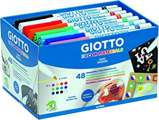 Giotto Decor Materials Schoolpack 48 pz Colori assortiti