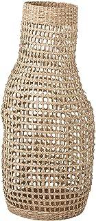 "Bloomingville Decorative 28.25"" Handwoven Natural Seagrass Vase Basket, Beige"