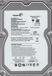 ST3500320AS, 9QM, KRATSG, PN 9BX154-568, FW SD81, Seagate 500GB SATA 3.5 Disco Duro