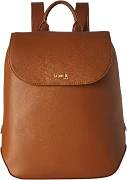 Plume Elegance Leather Small Backpack