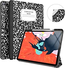 Soke iPad Pro 12.9 Case 2018 with Pencil Holder, Premium Trifold Case [Strong Protection + Apple Pencil Charging], Auto Sleep/Wake, Soft TPU Back Cover for iPad Pro 12.9
