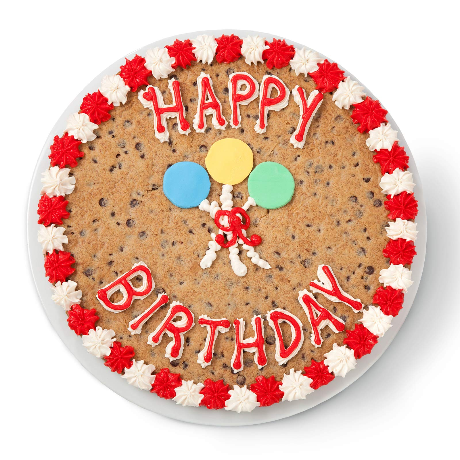 Superb Mrs Fields Cookies Happy Birthday 12 Cookie Cake Hand Frosted Personalised Birthday Cards Veneteletsinfo