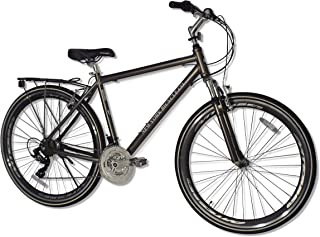 New York Bicycle Co. MH-2 Men's 700c Hybrid Bike with Rack