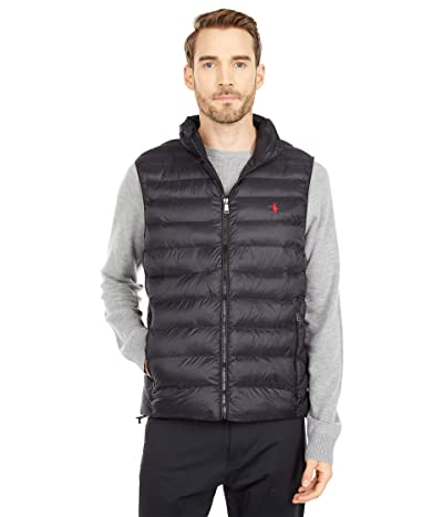 Polo Ralph Lauren Packable Down Vest (Polo Black) Men