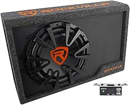 "Rockville Rws12ca Slim 1200 Watt 12"" Amplified Powered Car Subwoofer Enclosure"