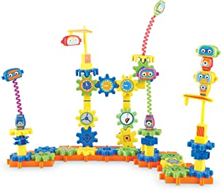 (one size) - Learning Resources Gears Gears Gears Robot Factory Building Set