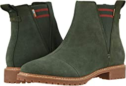 Water Resistant Dusty Olive Suede