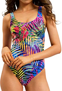 AVVA Tummy Control One Piece Swimsuits for Women - Sexy Bathing Suits with Slimming High Waist