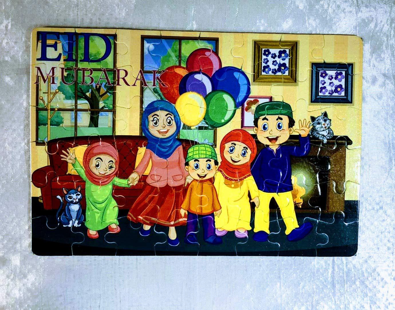 Amazon.com Ramadan puzzle, Eid al adha gift ,Eid puzzle, Muslim ...
