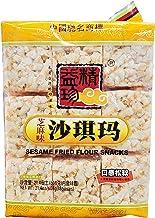 Jing Jih Jen Sachima Soft Flour Cake Sesame Flavor 18 Pieces, 608g