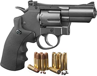 Crosman SNR357 .177 Pellet/4.5 mm BB CO2-Powered Revolver