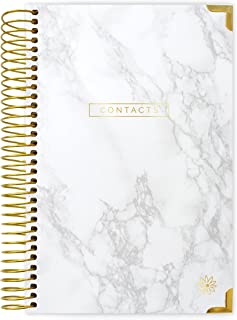 bloom daily planners New and Improved Hardcover Contacts/Address Book - 6