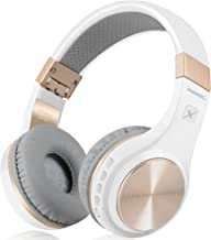 Bluetooth Headphones, Riwbox XBT-80 Folding Stereo Wireless Bluetooth Headphones Over Ear..