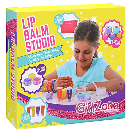 GirlZone DIY Make Your Own Lip Balm Kit With This 22 Piece Makeup Set For