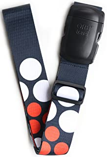 ORB Travel Luggage Strap Heavy Duty Quick Connect Buckle. Spot It Secure It