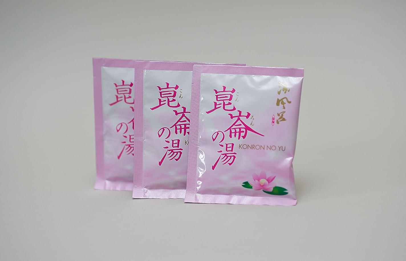 外交に関して付添人酒風呂入浴剤「崑崙の湯」( 日本酒風呂 ) 粉末タイプ (トライアルセット)(2袋で清酒5合の量に相当)