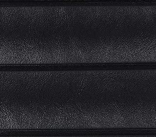 Wallaby Black Marine Outdoor Boat Auto Vinyl Fabric Pleated - 1.5