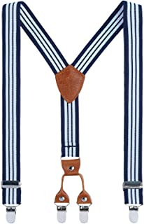 Childrens fully adjustable from 1 year Trouser Suspenders Y-Shape Braces for boy girl teenager 012