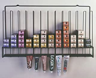 Salon Hair Color Tube Storage Rack