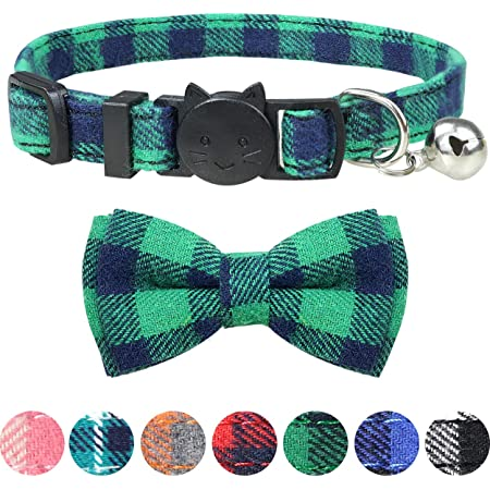 Green Celtic Crosses Pattern Themed Adjustable Over the Collar Removable Necktie Accessory for Dogs