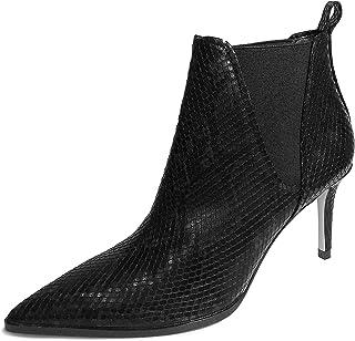 26d3f88f7e Zara Women's Animal Print Heeled Ankle Boots 1100/001