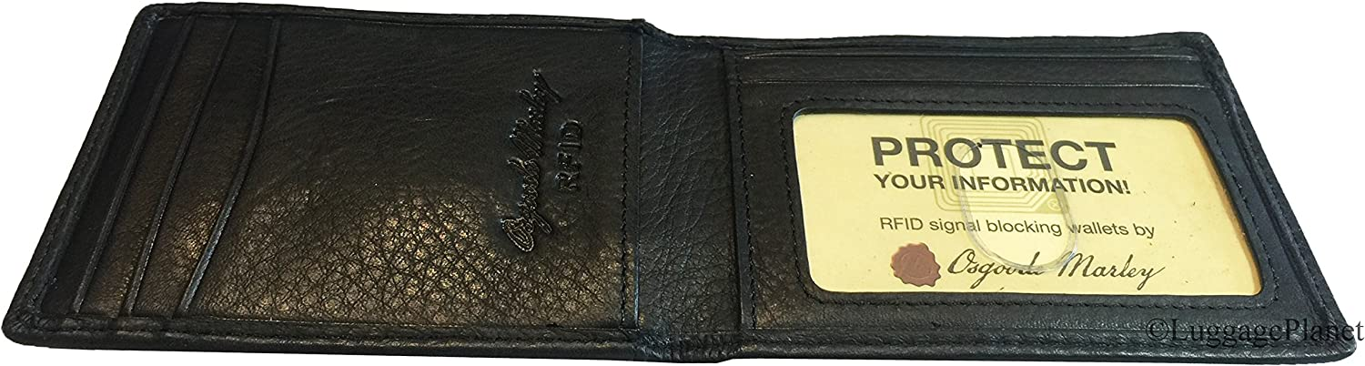 Osgoode Marley RFID Magnetic Indefinitely Bifold Leather Max 58% OFF Clip Wall Money Mens