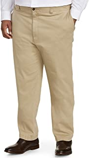 Amazon Essentials Men's Big & Tall Athletic-fit Casual Stretch Khaki Pant fit by DXL fit by DXL