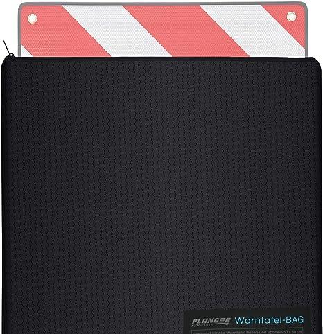 Planger Schutzhülle Für Warntafel Italien Und Spanien 53x53 Cm Schützt Ihre Warntafel Vor Nässe U Beschädigungen Auto