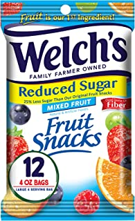 Welch's Snacks Reduced Sugar Mixed Fruit, 1 Count