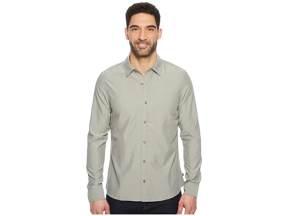 Toad&Co Cutler Long Sleeve Slim Shirt (Smoke) Men