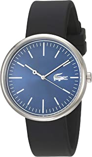 Lacoste Casual Watch For Men Analog Silicone - 2010907, Quartz Movement