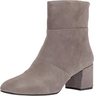 Kenneth Cole New York Women's Eryc Low Block Heel Ankle Bootie Square Toe