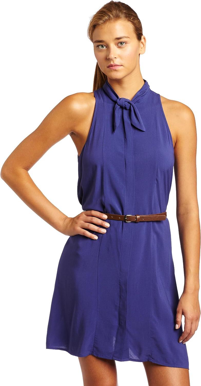 BCBGeneration Women's Neck Tie Dress