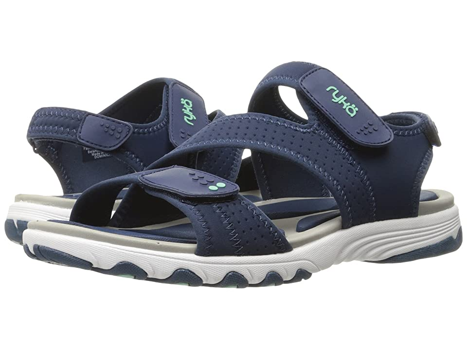 Ryka Dominica (Insignia Blue/Yucca Mint/Chrome Silver) Women