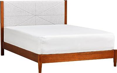 Rivet Stark Modern Starburst Stitch Queen Bed, 82.3