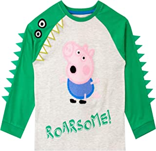 Peppa Pig Camiseta de Manga Larga para niños George Pig