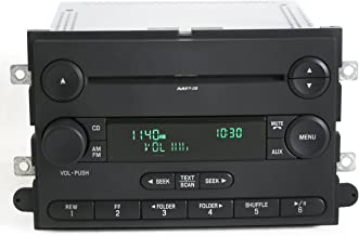 1 Factory Radio AM FM mp3 CD Player Compatible with 07-08 Ford F-150 Pickup 7L3T-18C869-BK