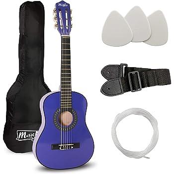 Música Alley junior guitarra Edad De 3 a 7 - Azul: Amazon.es ...