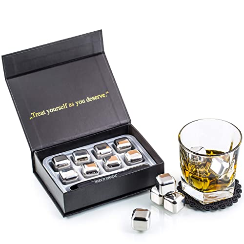 Exclusive Stainless Steel Whisky Stones Gift Set