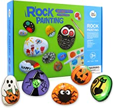 Jar Melo Rock Painting Kit; Non-Toxic; Hide and Seek Rock Art; Creative Colorful Magic Stone; Creative Gift; Arts and Crafts Kits for Adults and Kids