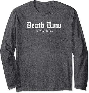 Death Row Records Blackletter Logo Long Sleeve T-shirt