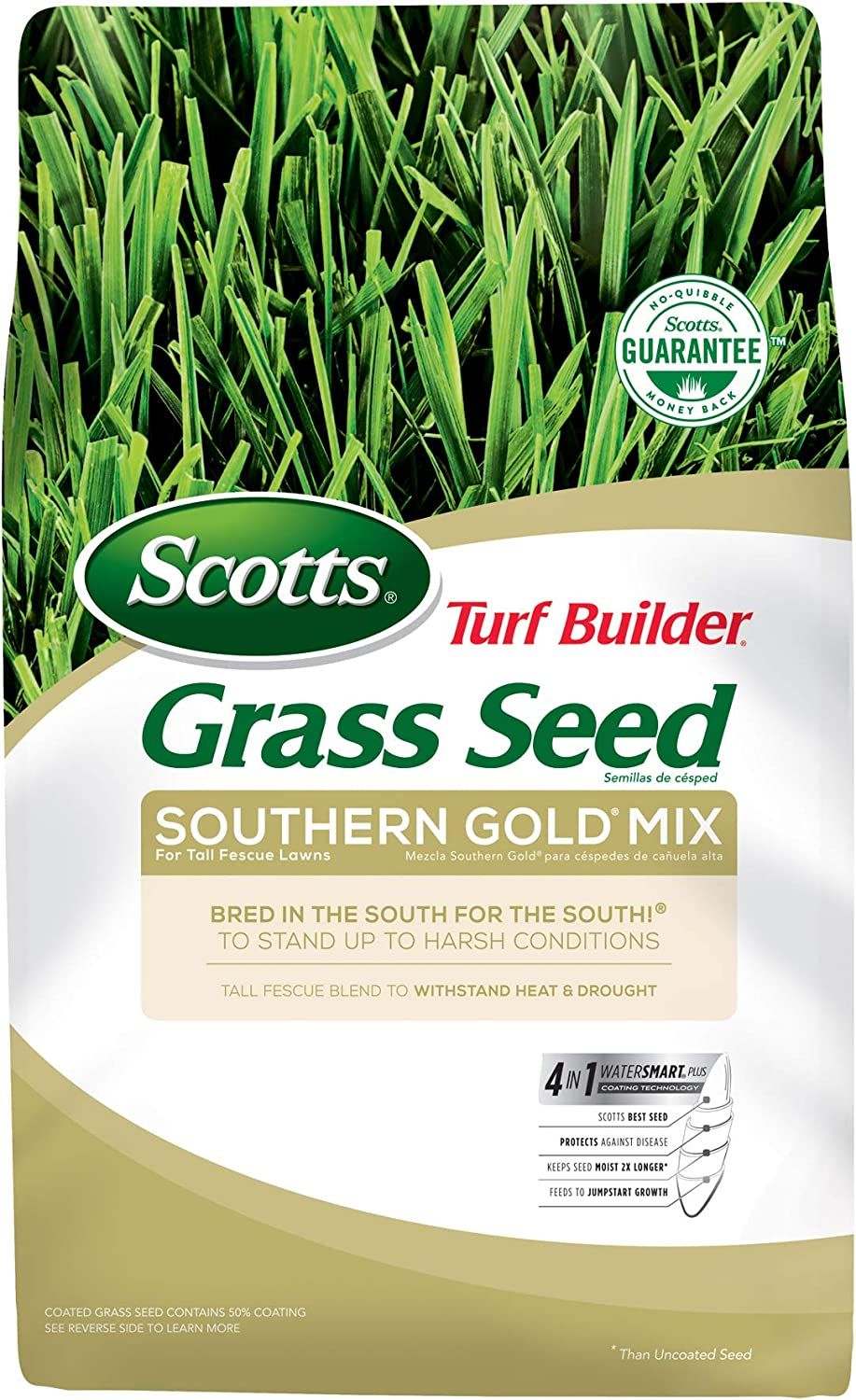 Scotts Turf Builder Grass Seed Southern San Francisco Mall Gold Tall Fescue Mix Max 73% OFF For