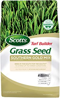 Scotts Turf Builder Grass Seed Southern Gold Mix For Tall Fescue Lawns - 3 lb., Tall Fescue Blend to Withstand Heat and Dr...