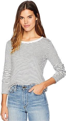 Marshmallow Thin Stripe