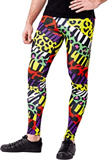 Men's Printed Colorful Leggings - Originals Range
