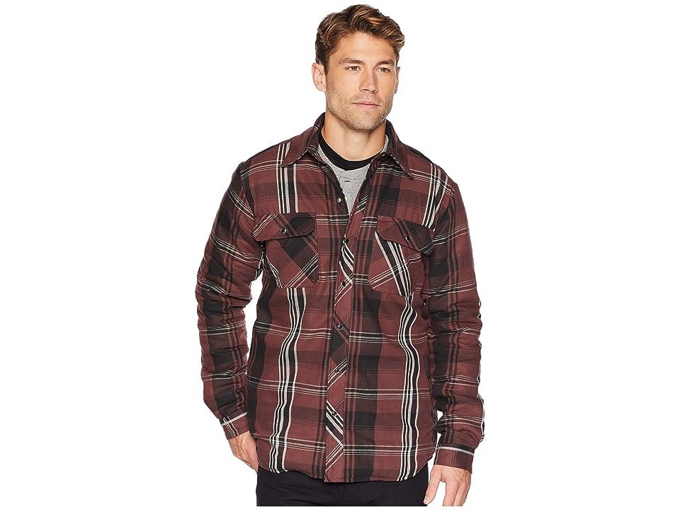 Dickies Modern Fit X-Series Snap Front Shirt Jacket (Cave/Black Plaid) Men