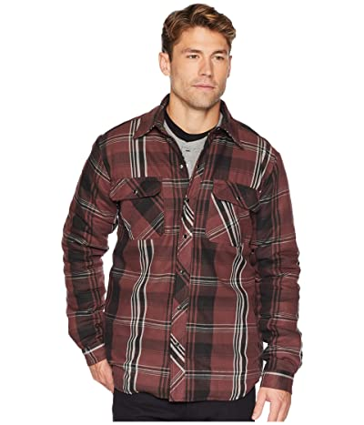 Dickies Modern Fit X-Series Snap Front Shirt Jacket (Cave/Black Plaid) Men